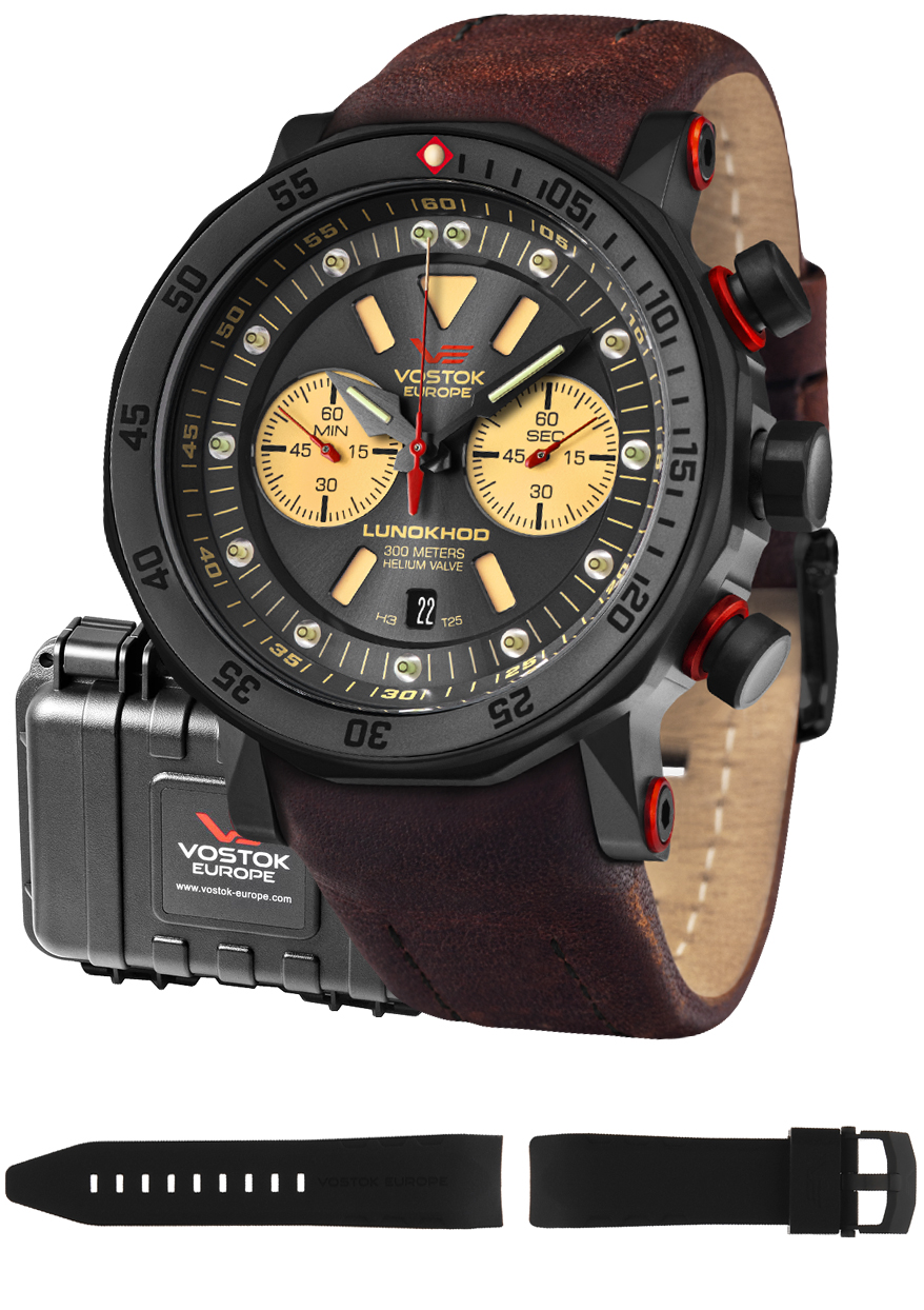 Vostok Europe 6S21-620C629 - zegarek męski