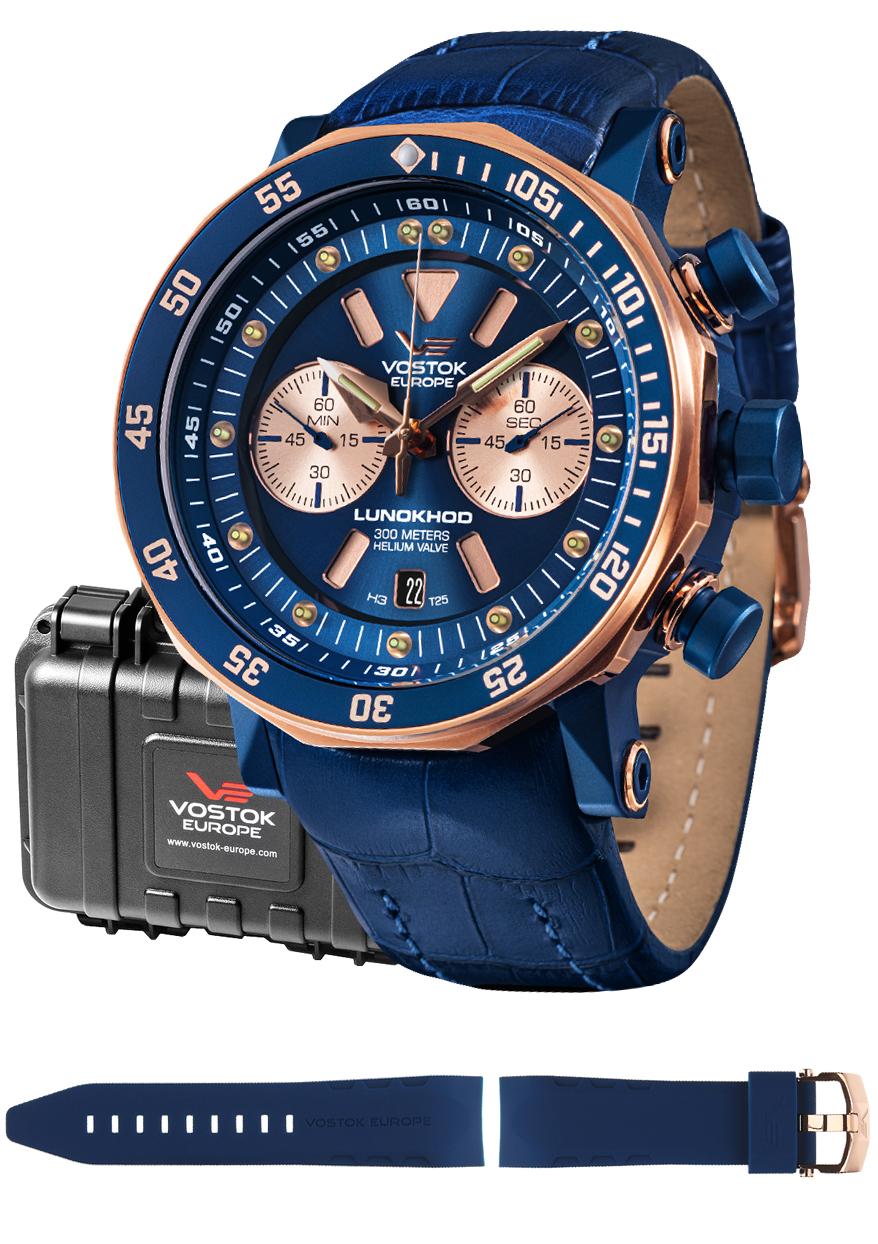 Vostok Europe 6S21-620E631 - zegarek męski