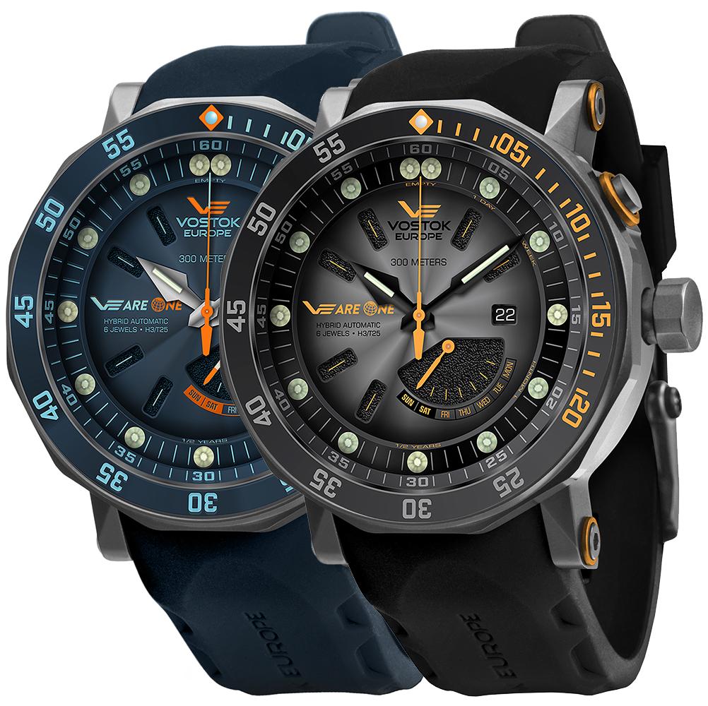 Vostok Europe PX84-620H658 + PX84-620H659 Zestaw Max - zegarek męski