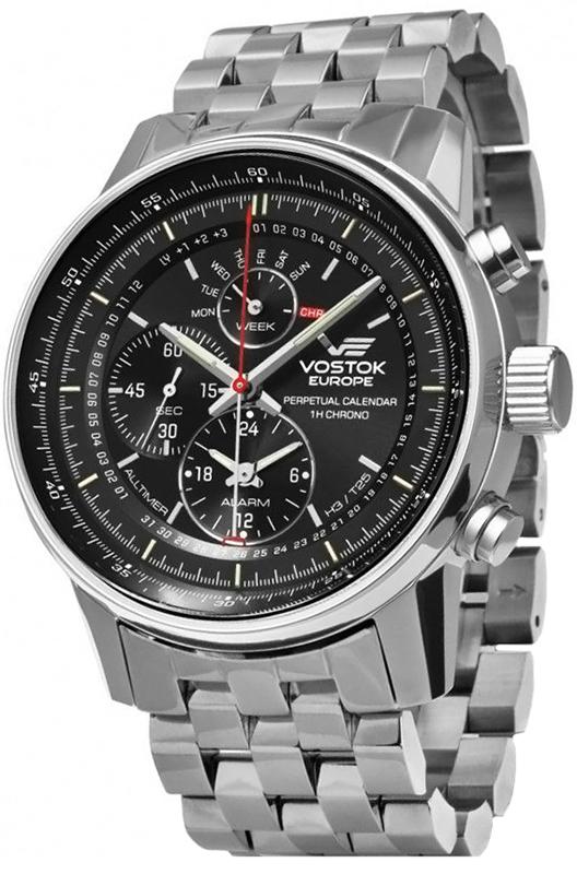 Vostok Europe YM86-565A287B - zegarek męski