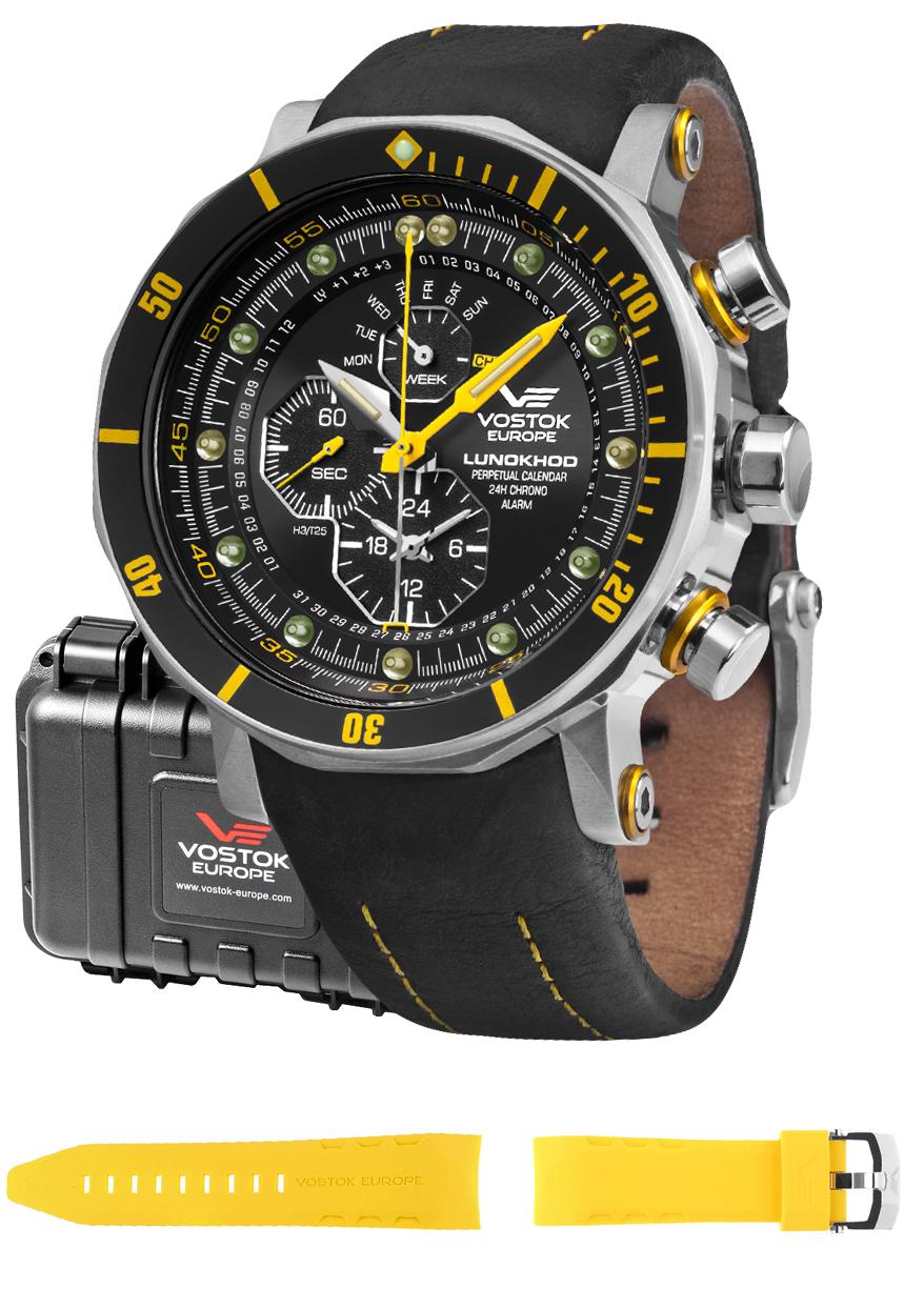 Vostok Europe YM86-620A505 - zegarek męski