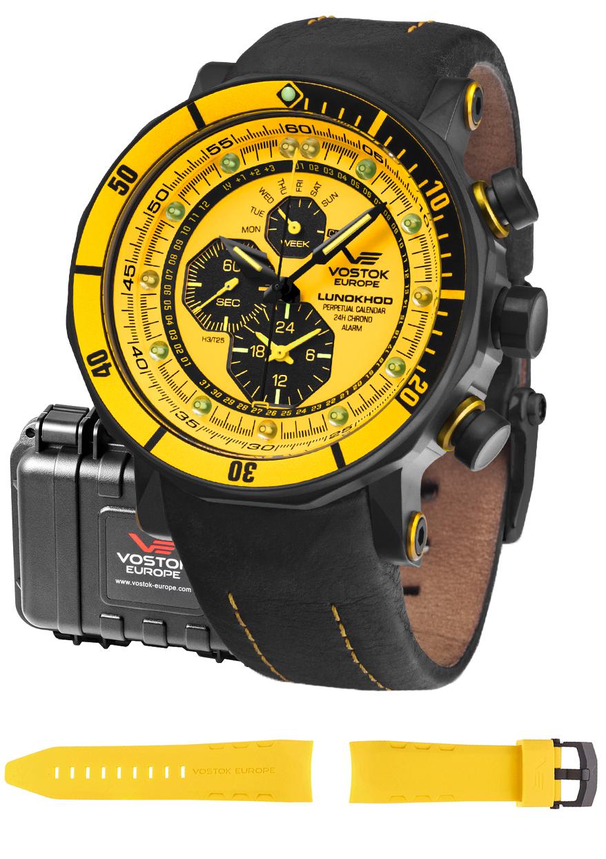 Vostok Europe YM86-620C504 - zegarek męski