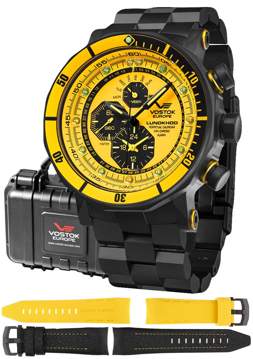 Vostok Europe YM86-620C504B - zegarek męski