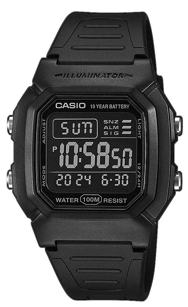 Casio W-800H-1BVES - zegarek męski