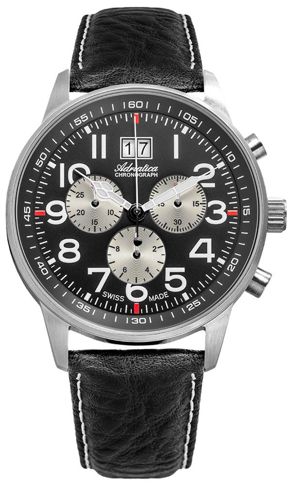Adriatica A1076.5224CHSIL - zegarek męski