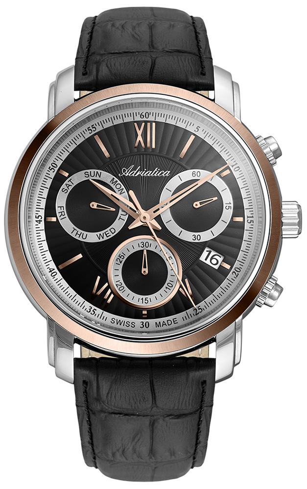 Adriatica A8193.R266CH - zegarek męski