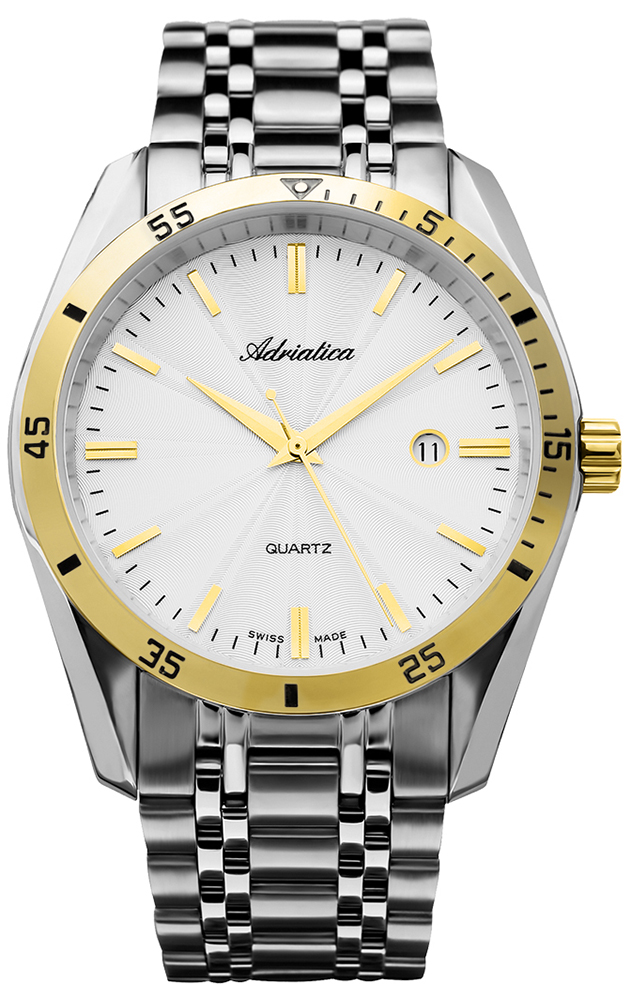 Adriatica A8202.2113QP - zegarek męski
