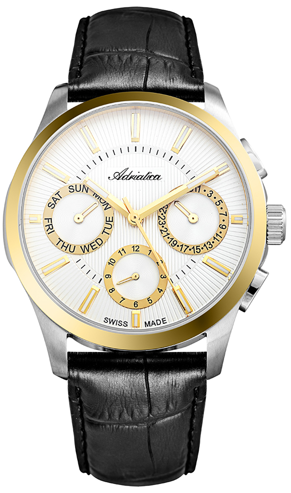 Adriatica A8255.2213QF - zegarek męski