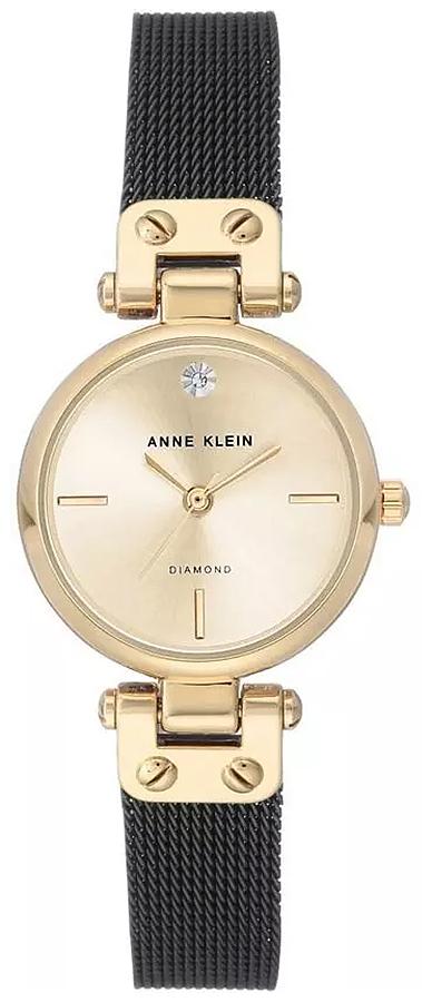 Anne Klein AK-3003CHBK - zegarek damski