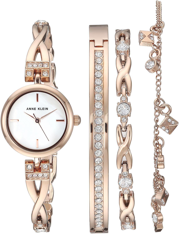 Anne Klein AK-3082RGST - zegarek damski
