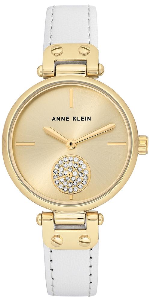 Anne Klein AK-3380CHWT - zegarek damski
