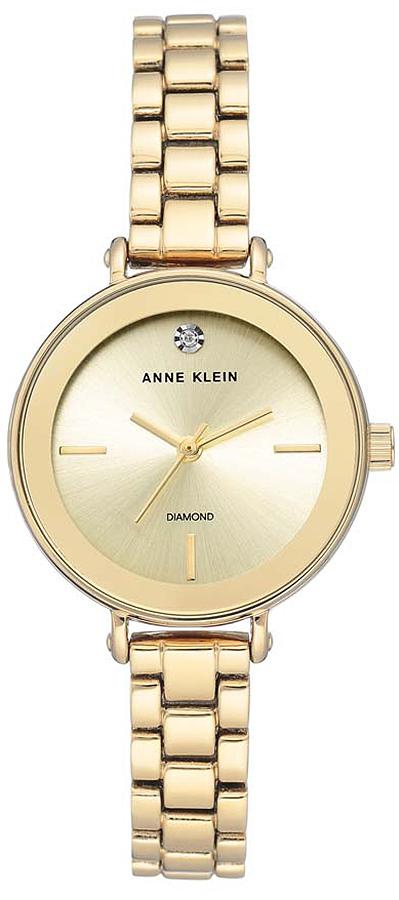 Anne Klein AK-3386CHGB - zegarek damski
