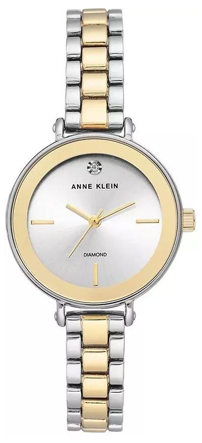 Anne Klein AK-3387SVTT - zegarek damski