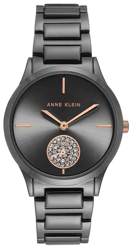 Anne Klein AK-3417GYRT - zegarek damski