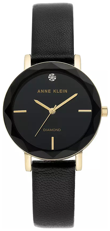 Anne Klein AK-3434BKBK - zegarek damski