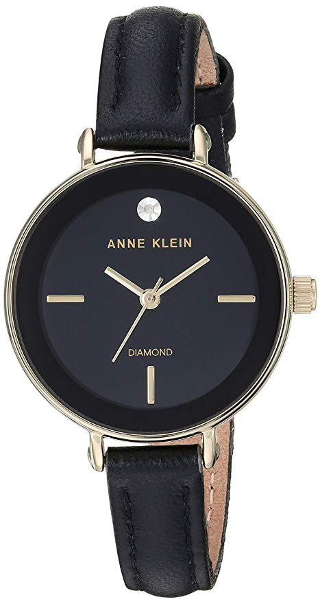 Anne Klein AK-3508BKBK - zegarek damski