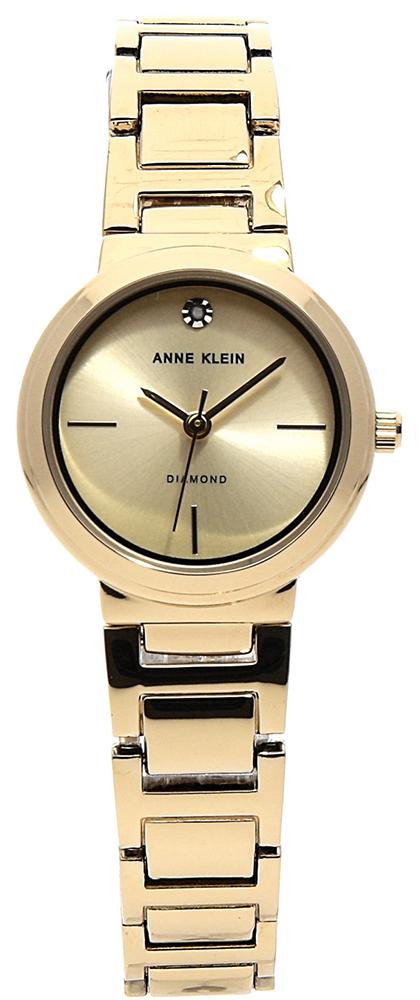 Anne Klein AK-3528CHGB - zegarek damski