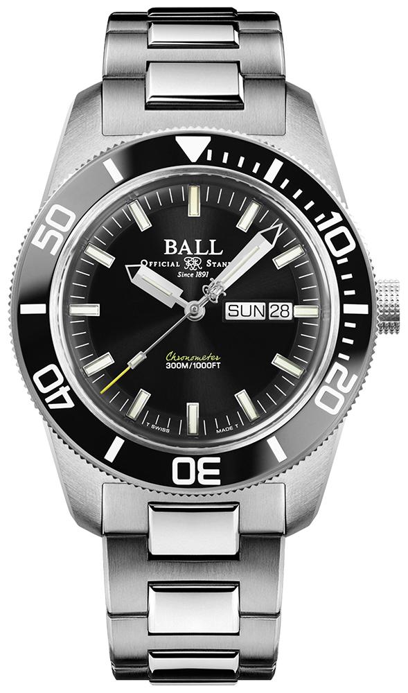 Ball DM3308A-SC-BK - zegarek męski