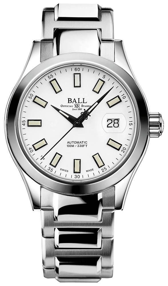 Ball NM2026C-S23J-WH - zegarek męski