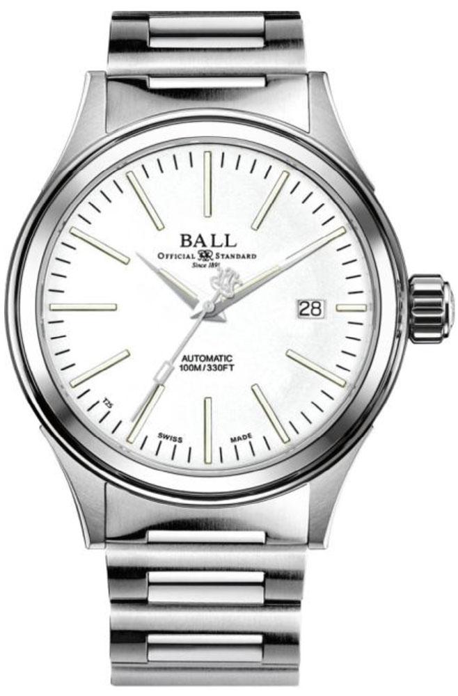Ball NM2188C-S20J-WH - zegarek męski