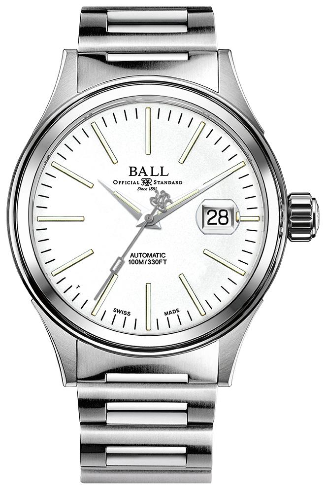 Ball NM2188C-S5J-WH - zegarek męski