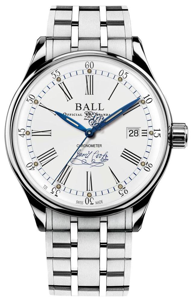 Ball NM3288D-S2CJ-WH - zegarek męski