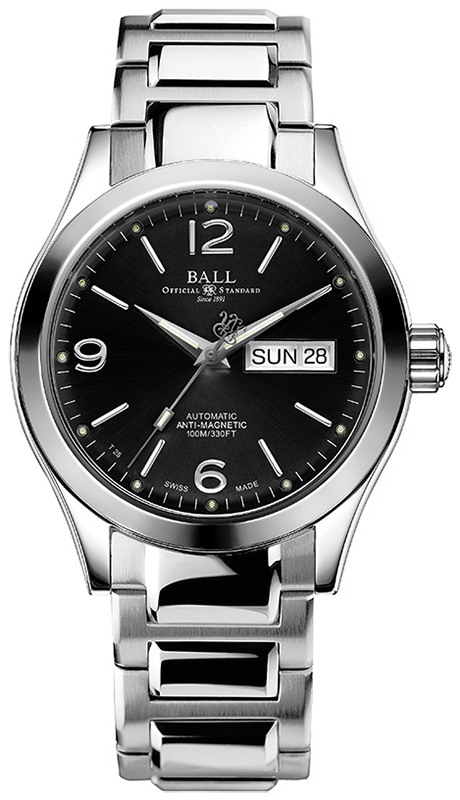 Ball NM9126C-S14J-BK - zegarek męski