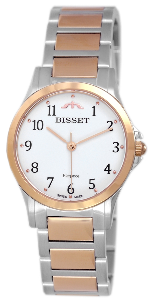 Bisset BSBE78TAWZ03BX - zegarek damski