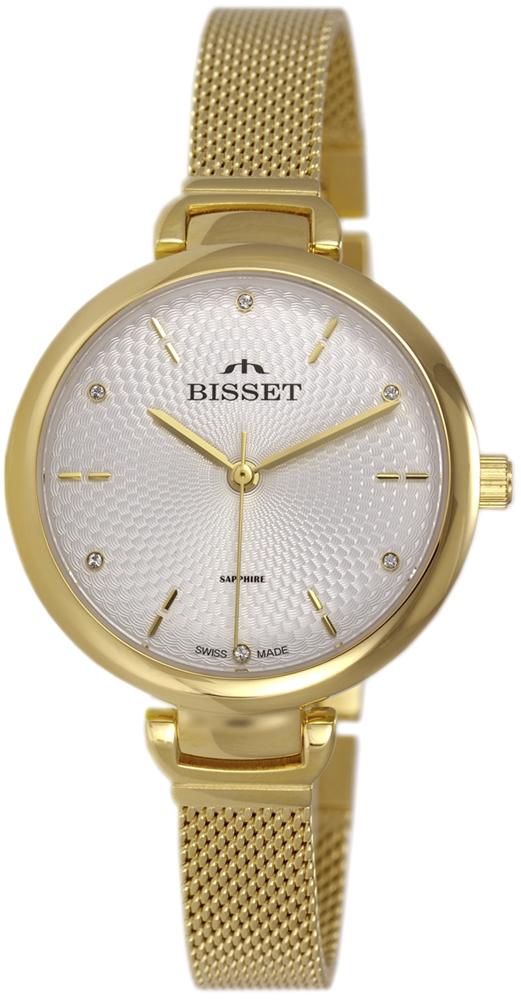Bisset BSBF22GISX03BX - zegarek damski