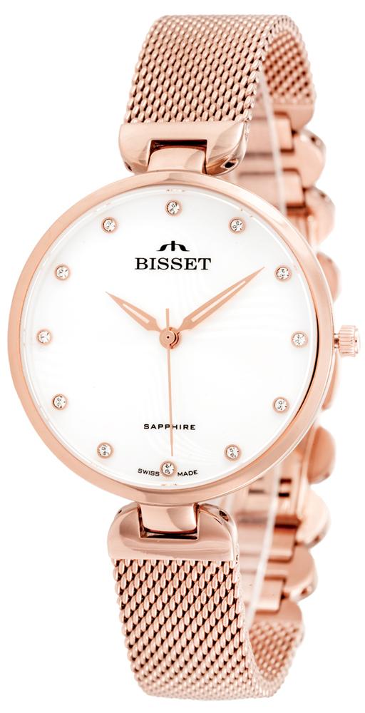 Bisset BSBF28RISX03BX - zegarek damski