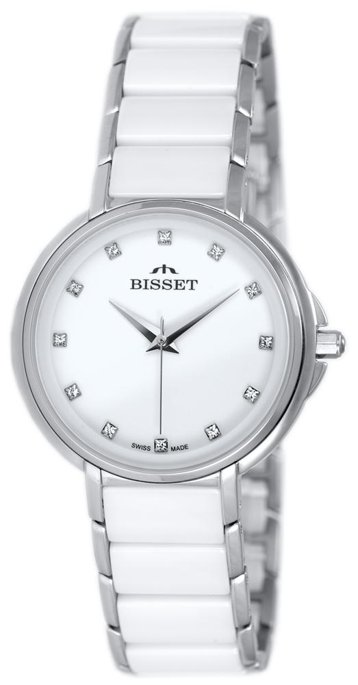 Bisset BSBX01SIWX03BX - zegarek damski