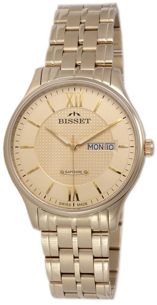 Bisset BSDF05GWGX03BX - zegarek męski