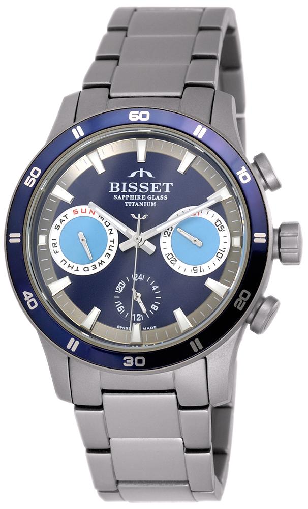 Bisset BSDF17DIDX10AX - zegarek męski