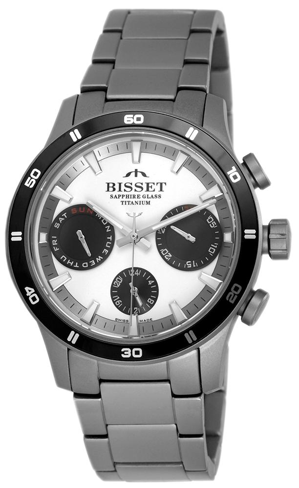 Bisset BSDF17DISB10AX - zegarek męski