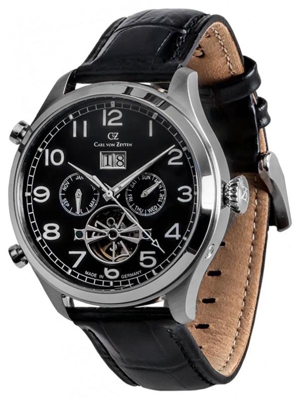 Carl von Zeyten CVZ0003BK - zegarek męski