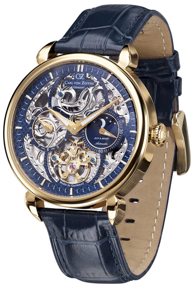 Carl von Zeyten CVZ0005GBL - zegarek męski