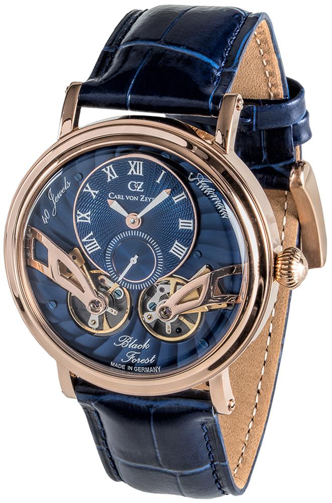 Carl von Zeyten CVZ0017RBL - zegarek męski