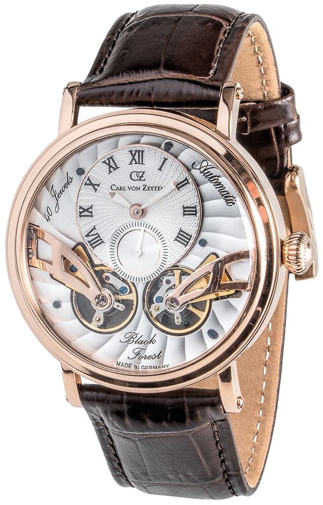 Carl von Zeyten CVZ0017RWH - zegarek męski