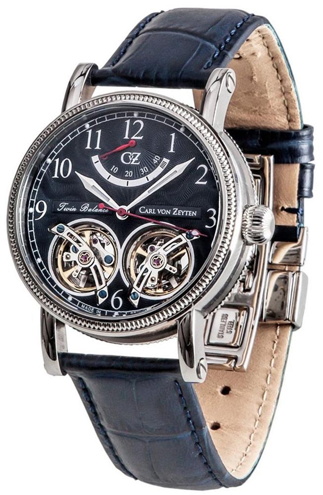 Carl von Zeyten CVZ0033BL - zegarek męski