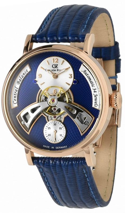 Carl von Zeyten CVZ0042RBL - zegarek męski