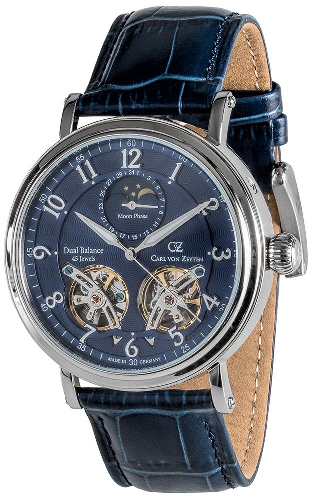 Carl von Zeyten CVZ0054BL - zegarek męski