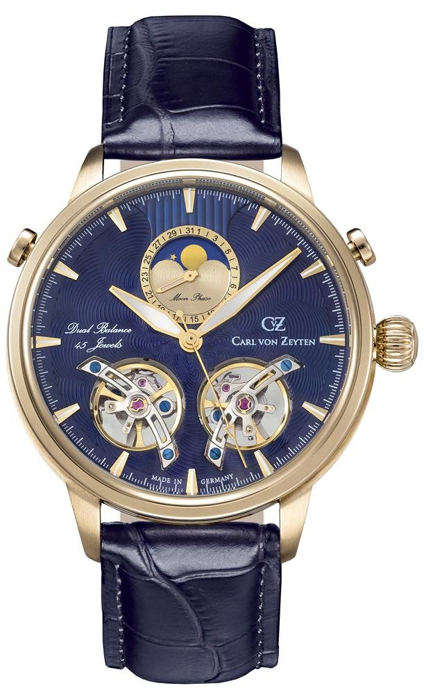 Carl von Zeyten CVZ0060GBL - zegarek męski