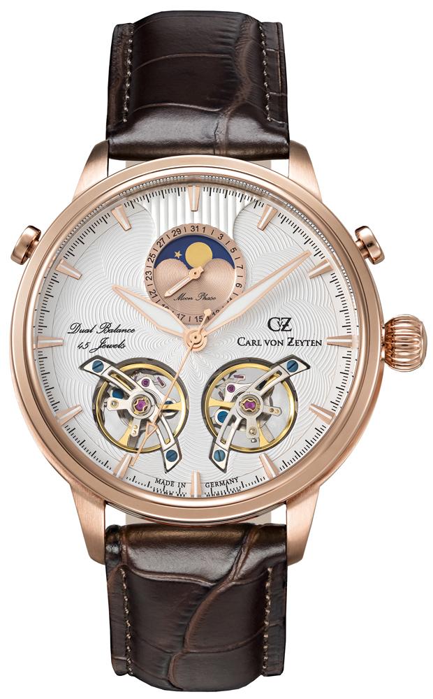 Carl von Zeyten CVZ0060RWH - zegarek męski
