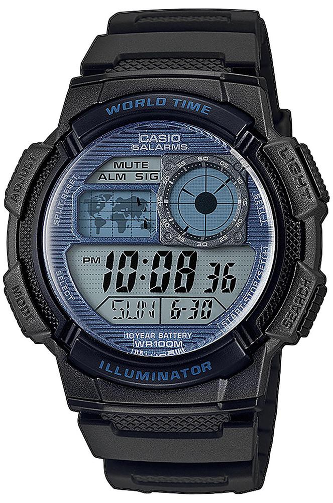 Casio AE-1000W-2A2VEF - zegarek męski