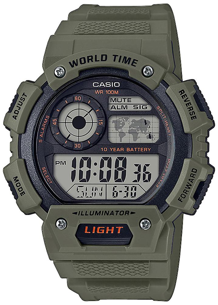 Casio AE-1400WH-3AVEF - zegarek męski