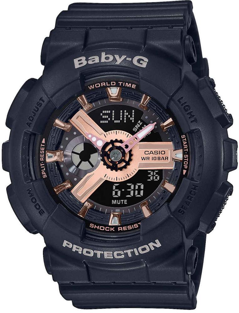 Casio Baby-G BA-110RG-1AER - zegarek damski