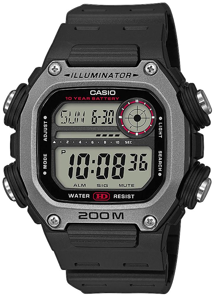 Casio DW-291H-1AVEF - zegarek męski