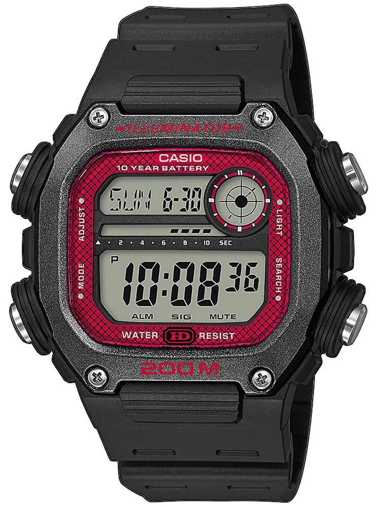 Casio DW-291H-1BVEF - zegarek męski