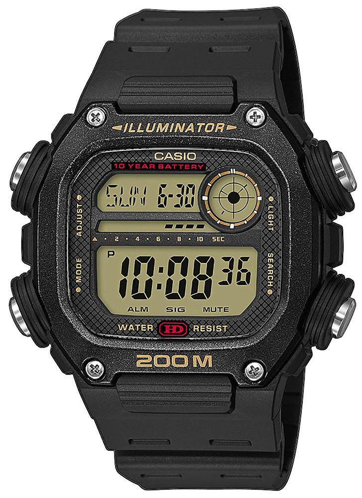 Casio DW-291H-9AVEF - zegarek męski