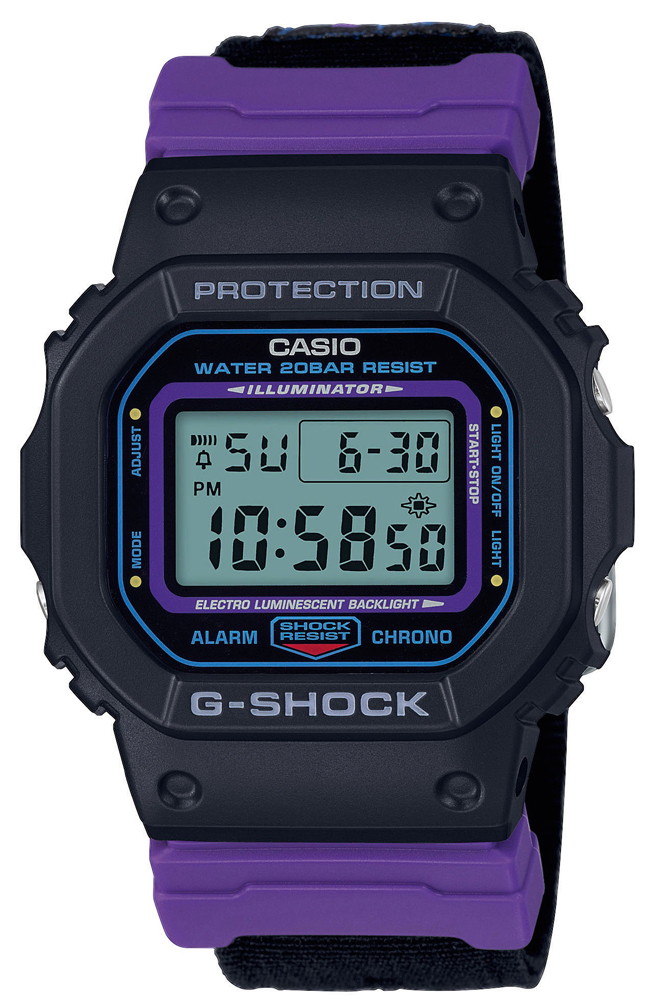 G-SHOCK DW-5600THS-1ER - zegarek męski